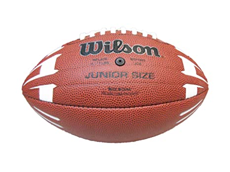 Wilson NCAA Junior Hypergrip Arrow - Balón de fútbol, Color marrón ...