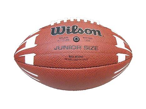 Wilson NCAA Junior Hypergrip Arrow - Balón de fútbol, Color marrón ...