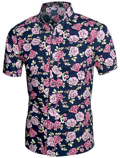 Rosa Pretty Green camicia da uomo costi comuni