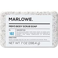 Marlowe. No. 102 Men's Body Scrub Soap 198g