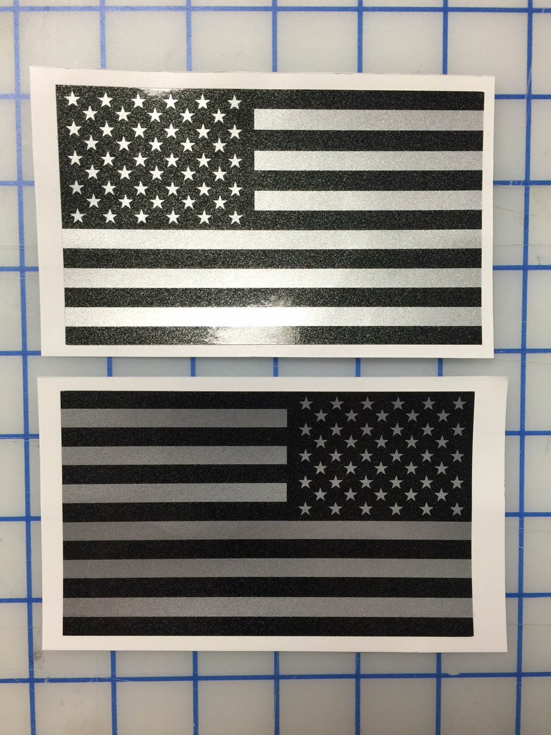 Amazoncom I Make Decals Larger Ghosted US American Subdued - Motorcycle helmet decals militarysubdued american flag sticker military tactical usa helmet decal