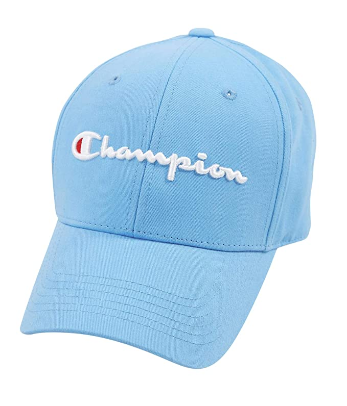 Amazon.com: Champion LIFE Mens Classic Twill Hat, Active Blue, One Size: Clothing