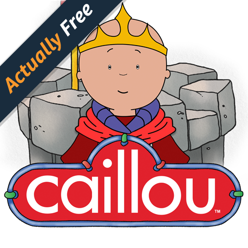 Caillou's Castle - Interactive story and puzzles