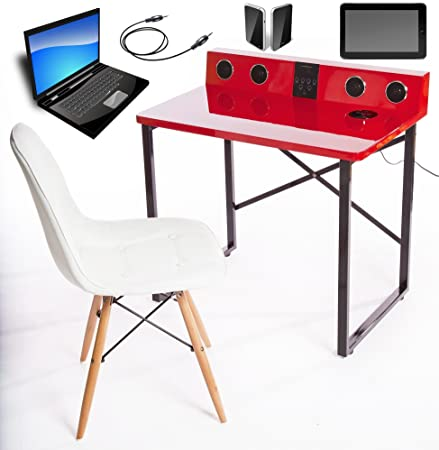 ultimate kids desk smart table with speakers and built in ipod
