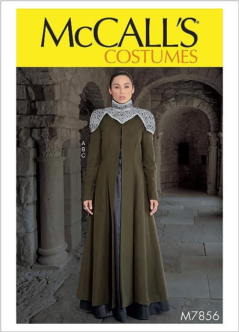 McCalls Patterns M7856 - Patrones de costura para disfraz, falda ...