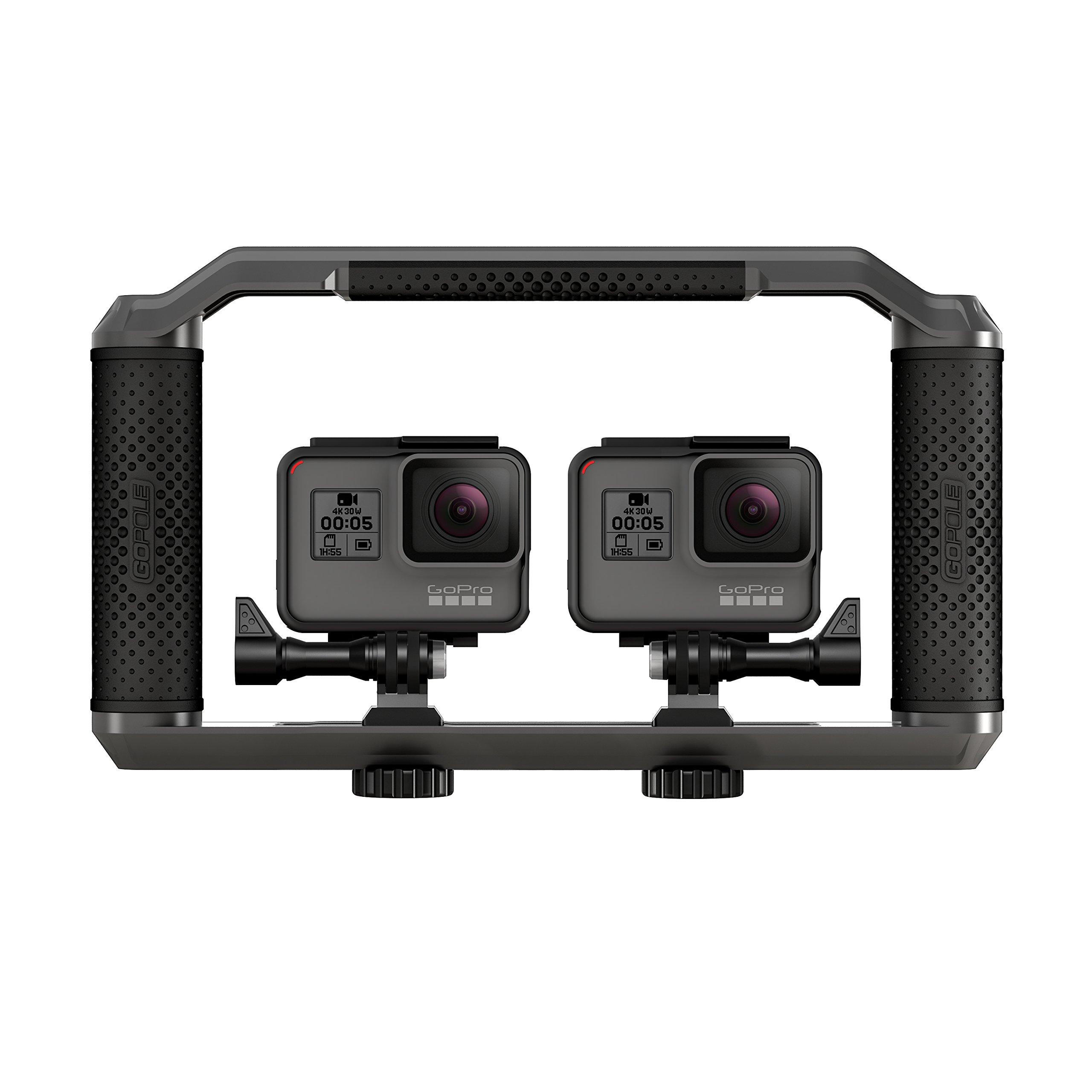 GoPole Triad Grip - Multi-Configuration Tray for GoPro Cameras
