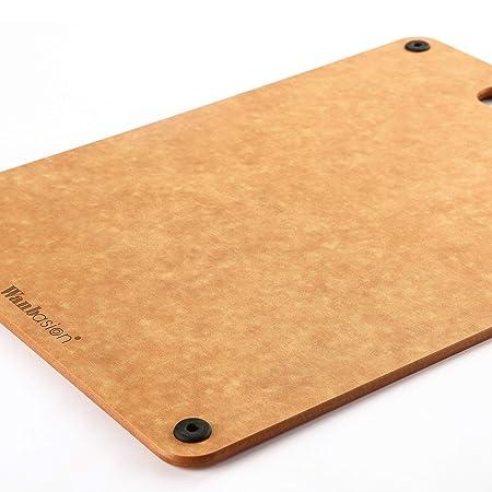 Wanbasion Tabla de cortar de madera apta para lavavajillas ...
