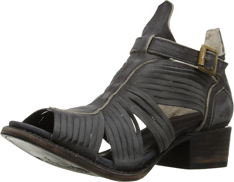 Freebird Women's Arrow Huarache Sandal B011AX6OGO 6 M US Black