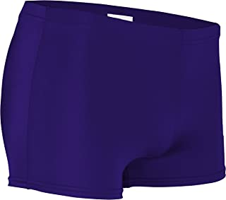 product image for NL-201-CB Women's Form Fit Compression Boys Cut Short with Elastic Waistband (Large, Purple)