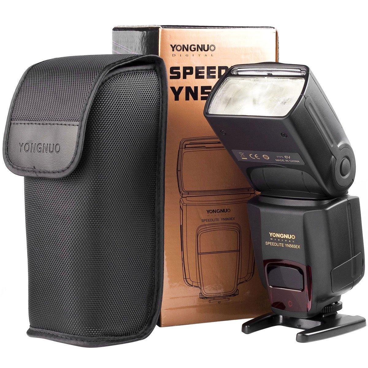 YONGNUO YN-565EX TTL Flash Speedlite Wireless Speedlight GN58 for Nikon DSLR D3000 D3100 D3200 D5000 D5100 D5200 D70 D600 D700 D750 D810 D7000 D7100 D300 D300S D80 D40 D40X Cameras by Yongnuo