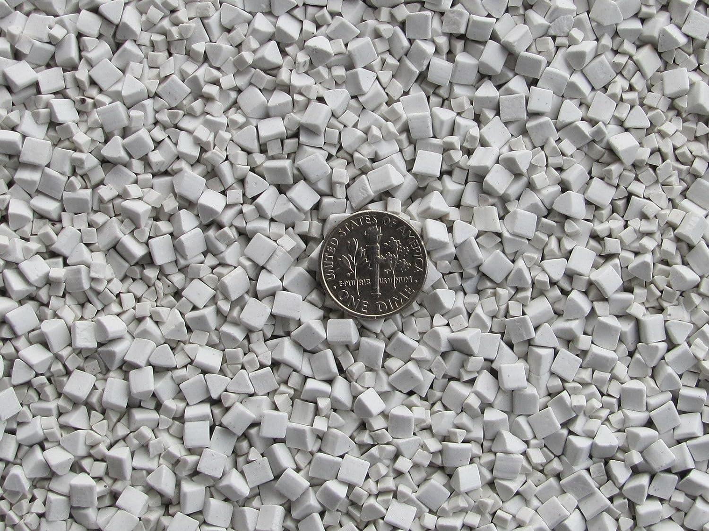 4 6 mm Polishing Triangles Non-Abrasive Ceramic Tumbling Tumbler Tumble Media 2 1 Lb