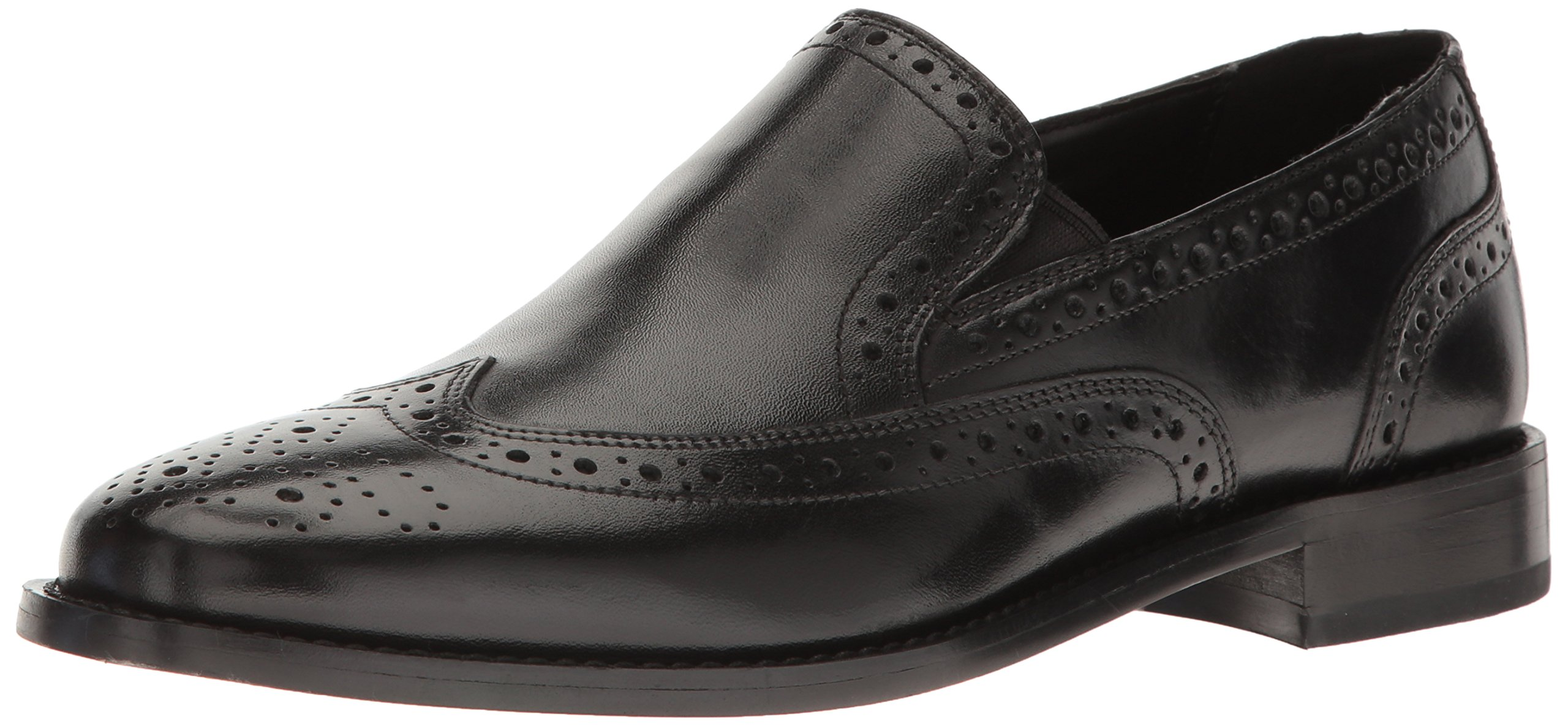 Nunn Bush Men's Norris Slip-on Loafer, Black, 9.5 M US