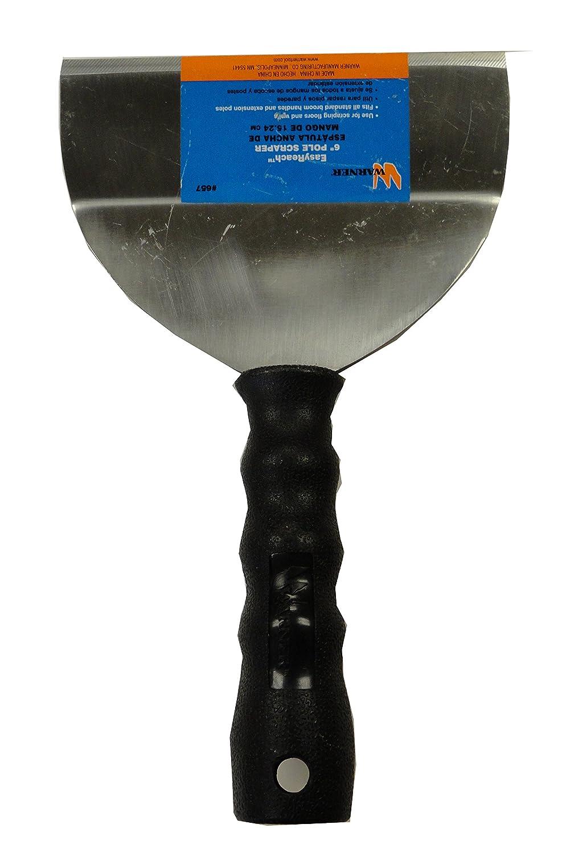 """Warner 6"""" Easy Reach Bent Scraper, 0.06"""" Carbon Steel Blade, 657"""