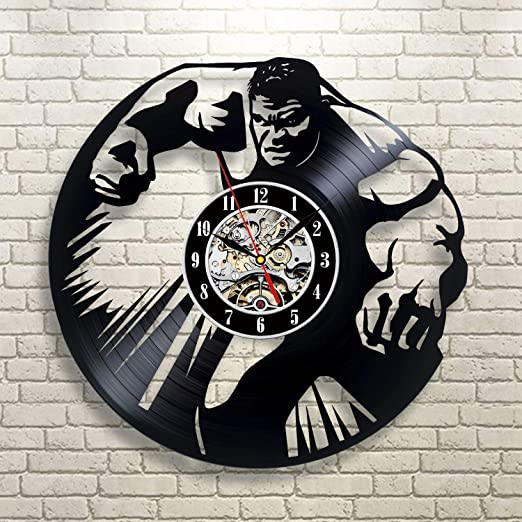 Everyday Arts Hulk - Reloj de superhéroe, diseño Vintage ...