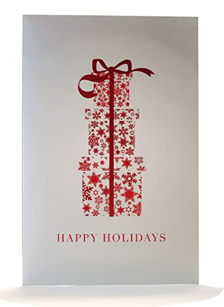 Amazon box of 16 deluxe holiday present greeting cards box of 16 deluxe holiday present greeting cards m4hsunfo