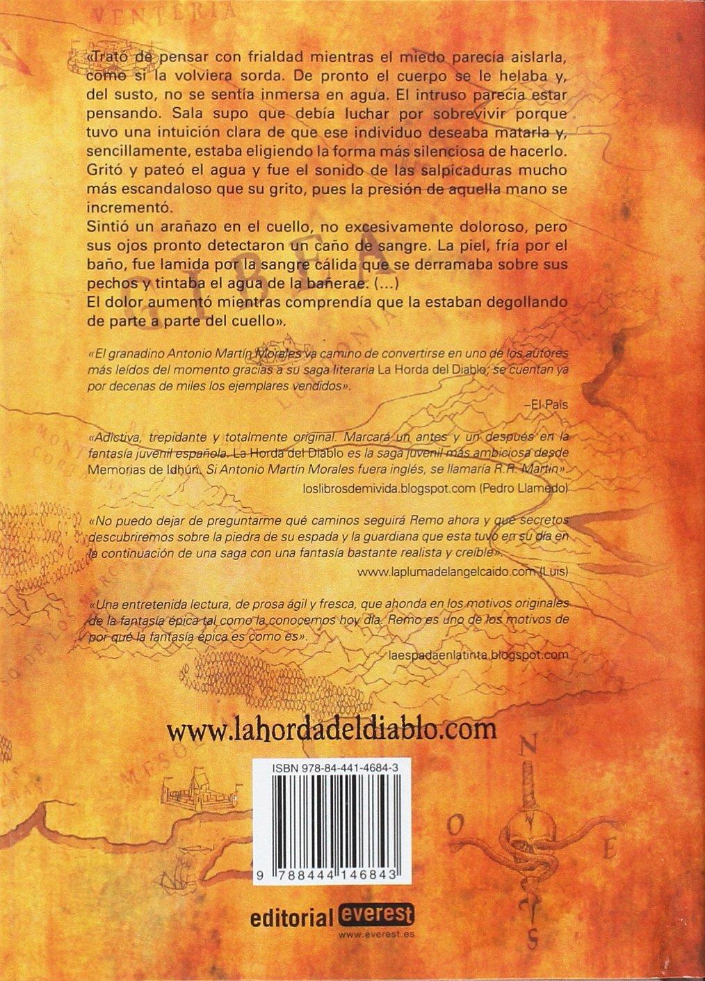 El pacto de las cinco montañas. La Horda del Diablo. Libro III: Antonio Martín Morales: 9788498458848: Amazon.com: Books