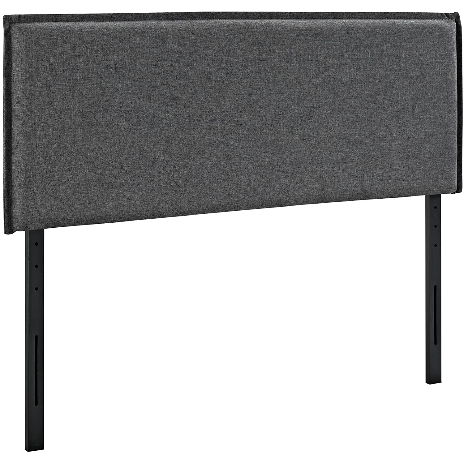 Modway Camille Twin Upholstered Fabric Headboard in Atomic Red Modway© MOD-5405-ATO