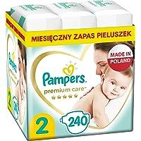 Pampers Premium Care, Rozmiar 2, 240 Pieluszki, Najdelikatniejszy Komfort I Najlepsza Ochrona Skóry Oferowane Przez…