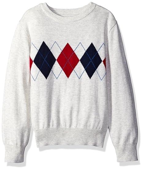 f093c8ba20bb Amazon.com  The Children s Place Boys  Argyle Sweater  Clothing