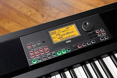 KORG XE20 - Piano digital con acompañamiento automático, color negro