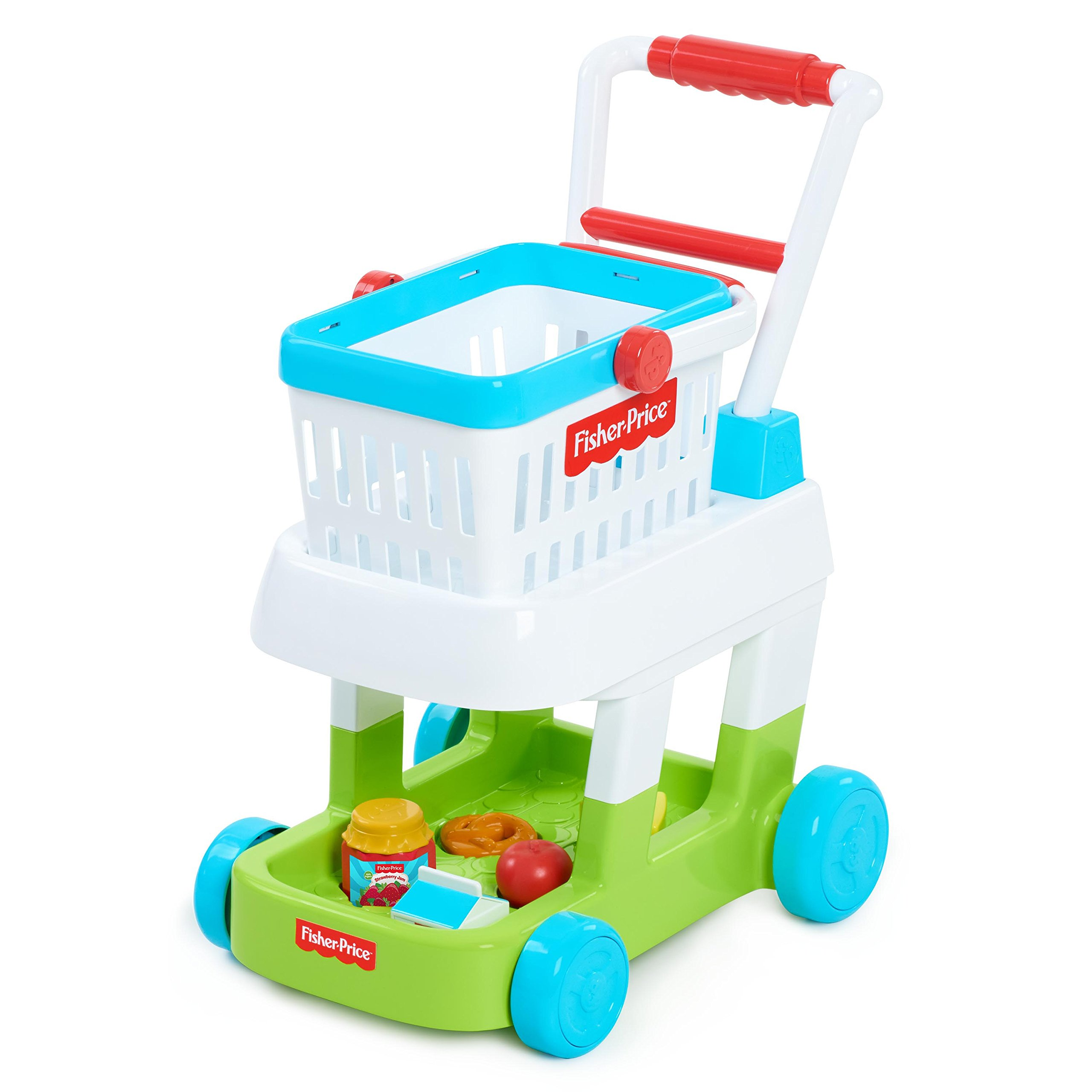 Fisher-Price 93525 Shopping Cart Toys, Multicolor