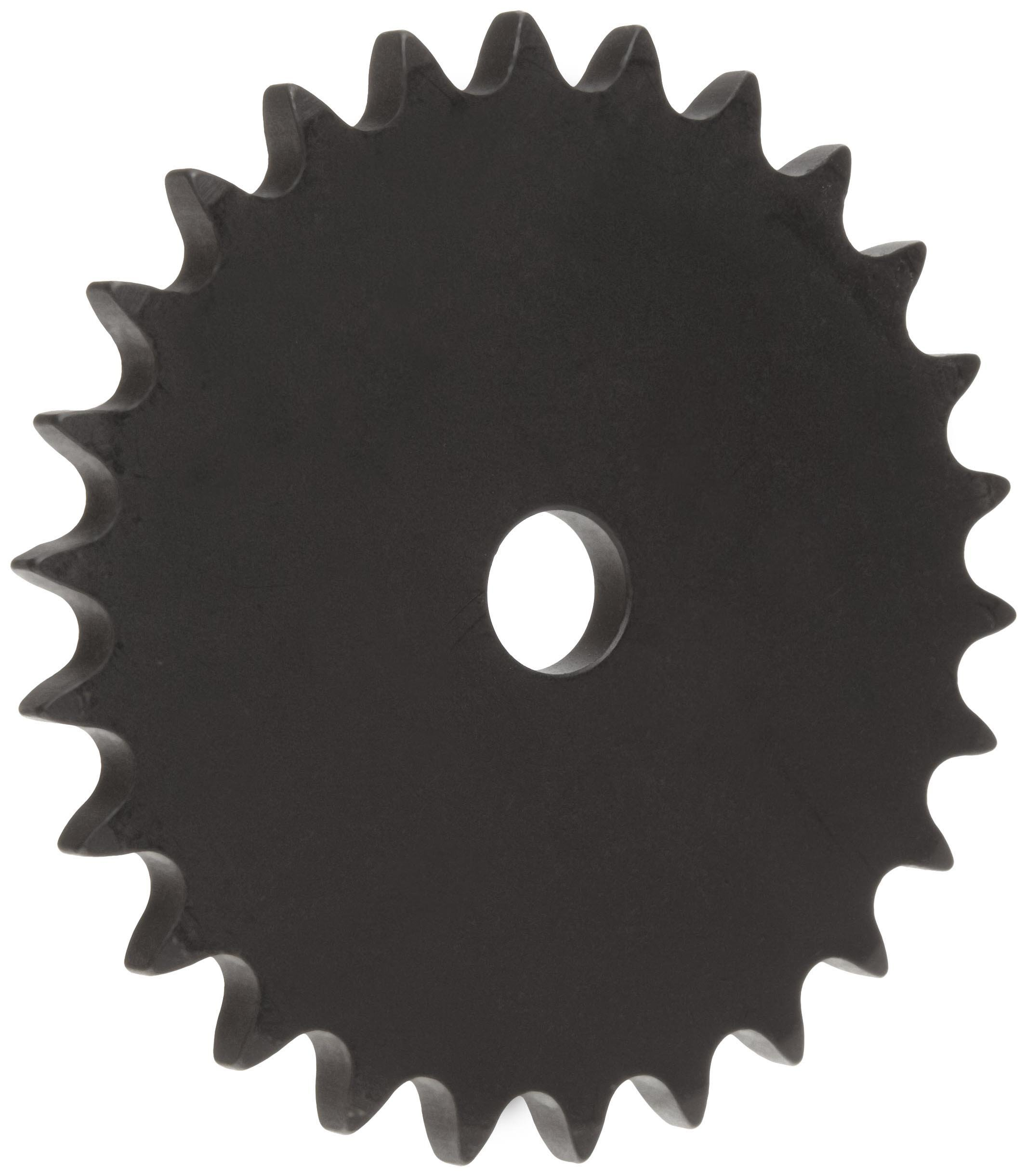 Martin Roller Chain Sprocket, Reboreable, Type A Hub, Single Strand, 40 Chain Size, 0.5'' Pitch, 60 Teeth, 0.719'' Bore Dia, 9.84'' OD, 0.284'' Width