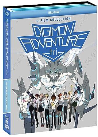 Amazon com: Digimon Adventure tri : 6-Film Collection [Blu