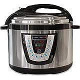 10-in-1 PressurePro 10 Qt Pressure Cooker - Multi-Use Programmable Pressure Cooker, Slow Cooker, Rice Cooker, Steamer, Sauté and Warmer - Black