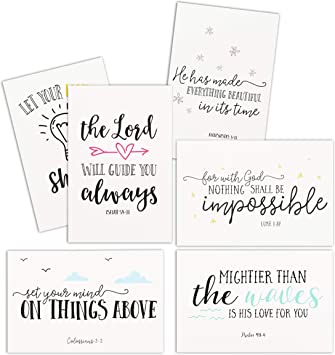 Birthday Cards Sports with Bible Verses on Each Card