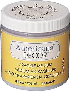 Deco Art Crackle Medium, 8-Ounce, Clear