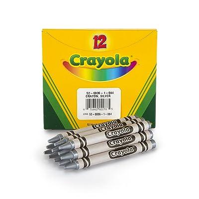Crayola Crayons, Bulk Silver Crayon Refill, 12 Count: Toys & Games