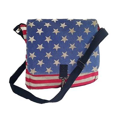 Americana Crossbody bag synthetic black