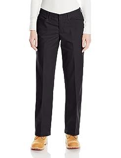 Red Kap Plus Women/'s Blue Elastic Waist Flat Front Work Pants Size 24W; 42 X 32