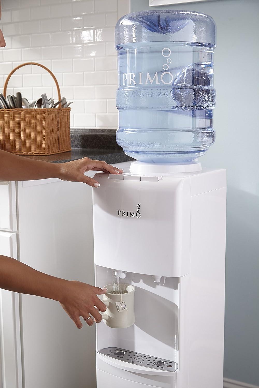 Primo - Dispensador de agua fría y caliente, 2 boquillas, color ...
