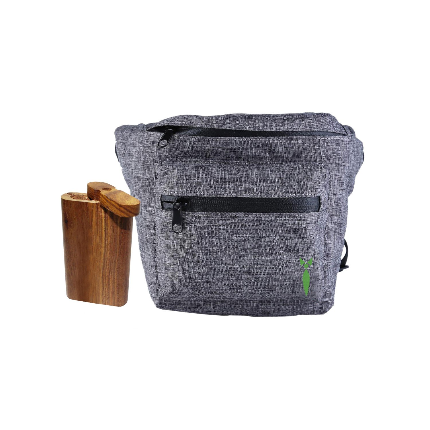 Discreet Smoker All In 1 Smell Proof Bag Fanny Pack For Festivals And Outdoor Events