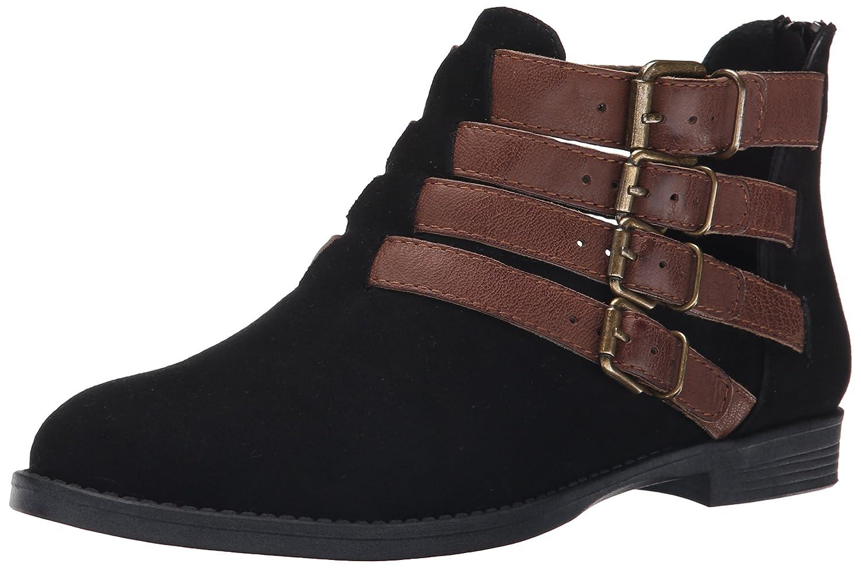 Bella Vita Women's Ronan Boot B00U803K9U 9 W US|Black Suede/Camel