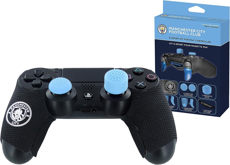 Manchester City FC Subsonic - Kit para Mando de PS4 con Licencia Oficial: Amazon.es: Videojuegos