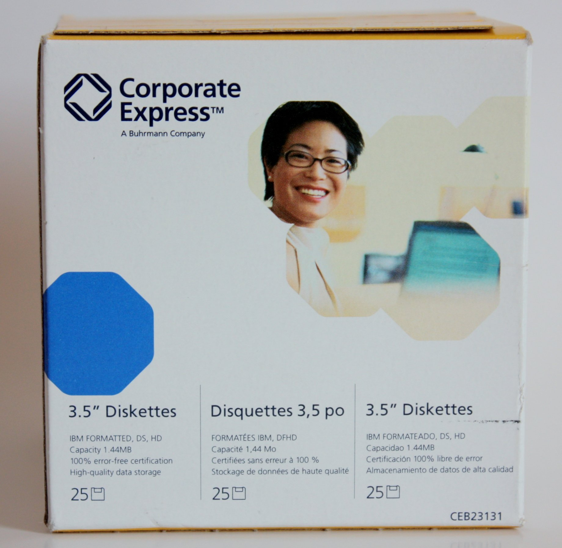 Corporate Express 3.5'' Floppy Diskettes 25 Pack