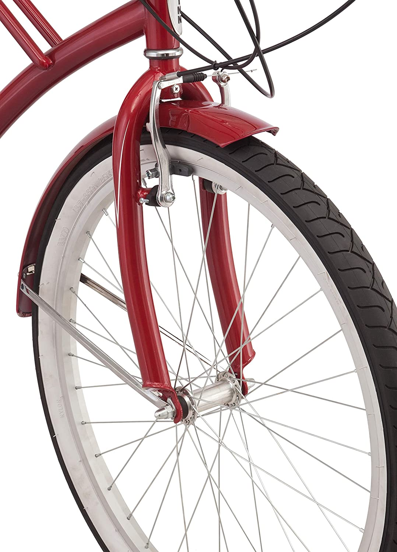Schwinn Sanctuary 7 Cruiser Bike, Featuring Retro-Styled 16-Inch/Small  Step-Through and 18-Inch/Medium Step-Over Steel Frames, 7-Speed Drivetrain,