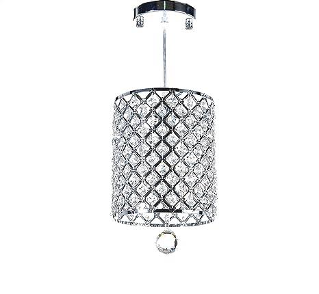 Amazon.com: Diamond Vida, acabado chapado en cromo 1-Light ...