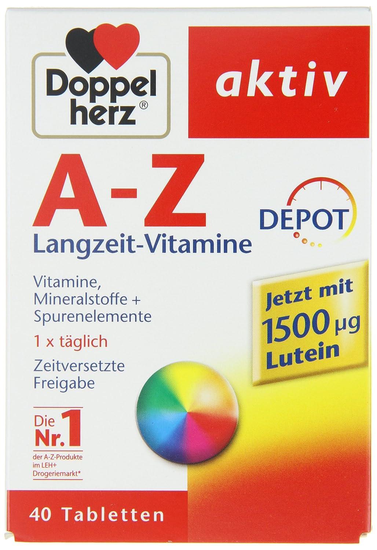 Dobles tabletas Corazón AZ Depot, 40 piezas: Amazon.es: Salud y cuidado personal