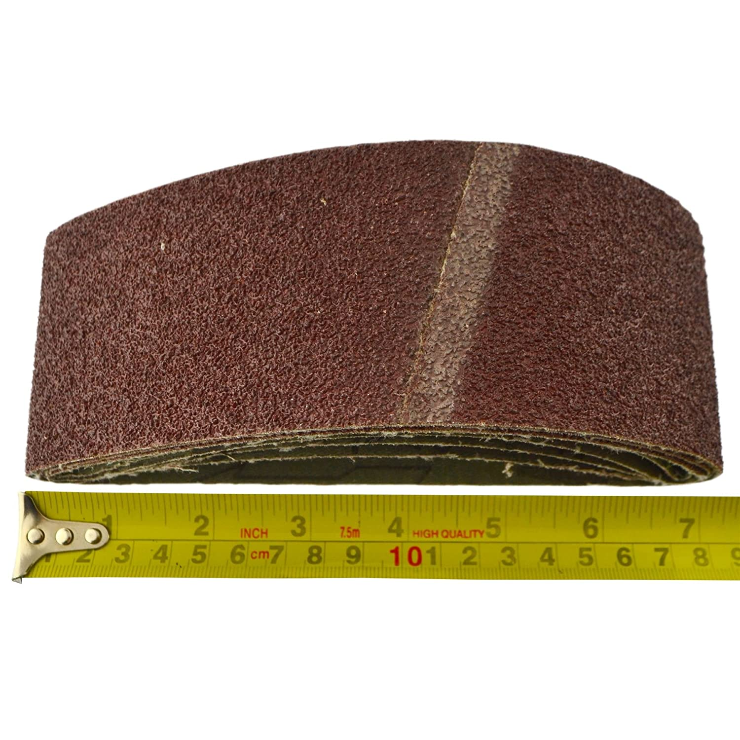 lot 20 Grain Fichier dalimentation Ponceuse Bandes abrasives 410mm x 65mm