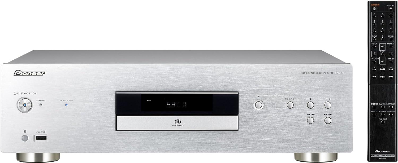 Pioneer PD-30-S - Lector de CD para equipo de audio, plateado: Amazon.es: Electrónica