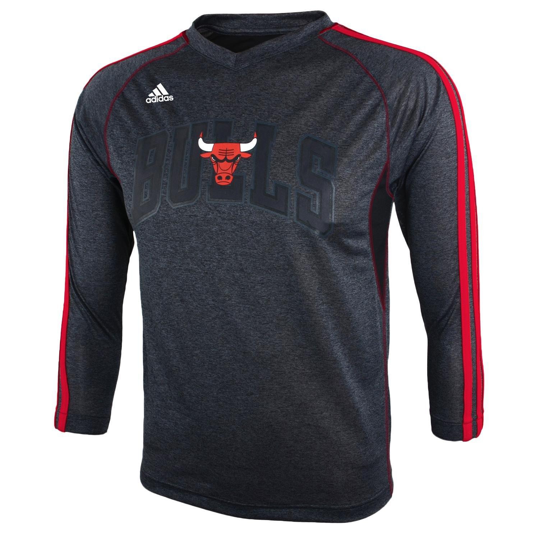 OuterStuff NBA Chicago Bulls Youth 8 - 20 Manga Larga Pista ...