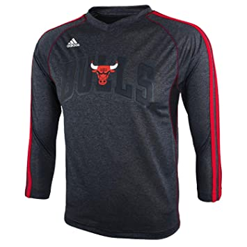 Outerstuff NBA CHICAGO BULLS Youth 8 – 20 manga larga pista camiseta, rojo, Infantil