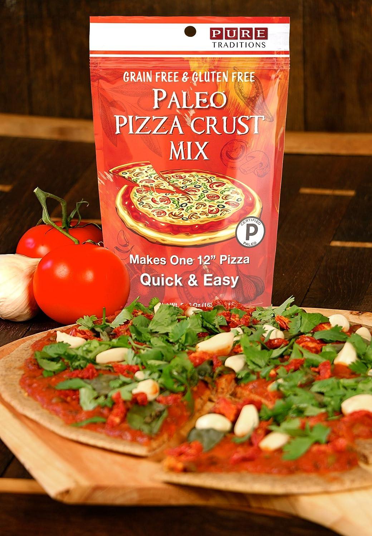 Certified Paleo Pizza crust mezclar, fácil y rápido (2 ...