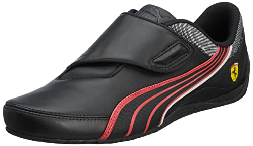 5723c10e1ad Puma Drift Cat 3 CF SF Ferrari negro rojo - Talla  40.5  Amazon.es  Zapatos  y complementos