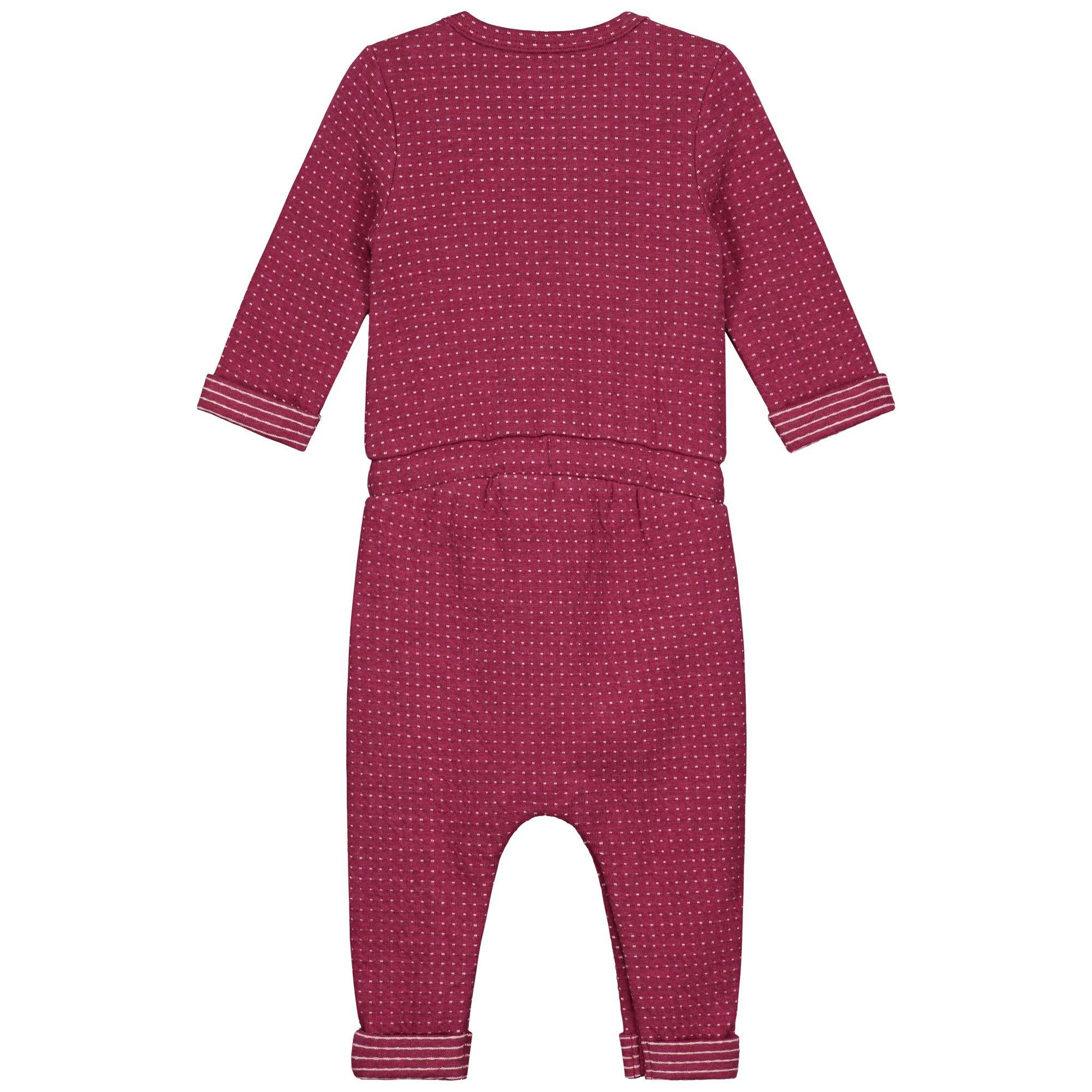 Pr/énatal Baby M/ädchen 1-teiliger Anzug Kurzarm Rosa