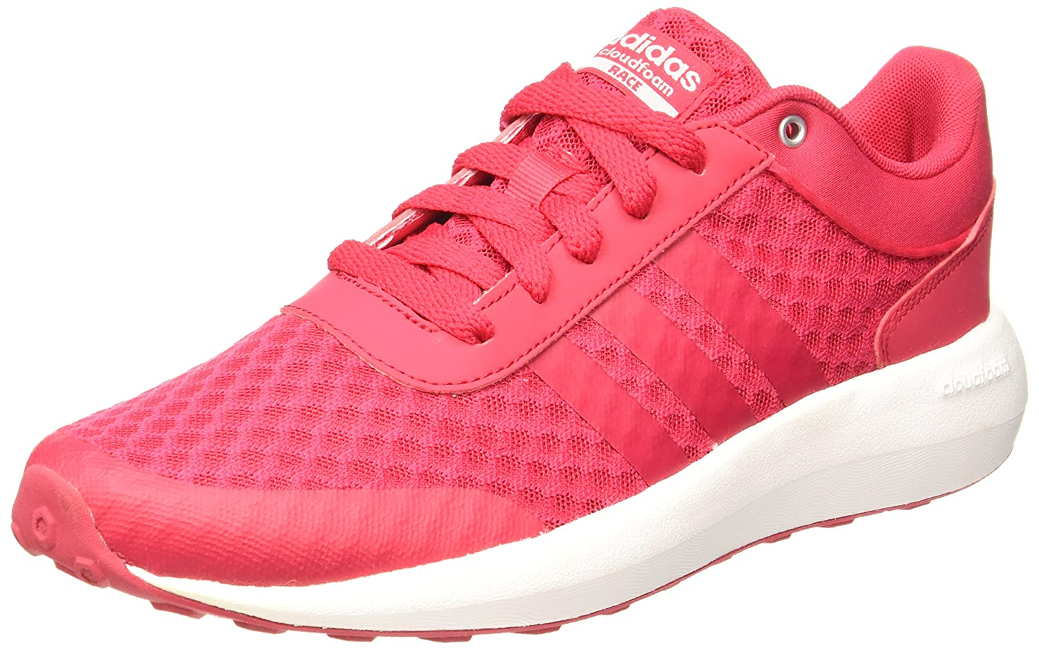Amazon.com | adidas Women Shoes Running Cloudfoam Race Training Workout Gym Pink | Skateboarding