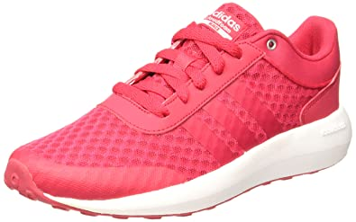adidas Women Shoes Running Cloudfoam Race Training Workout Gym Pink (EU 37 1/3
